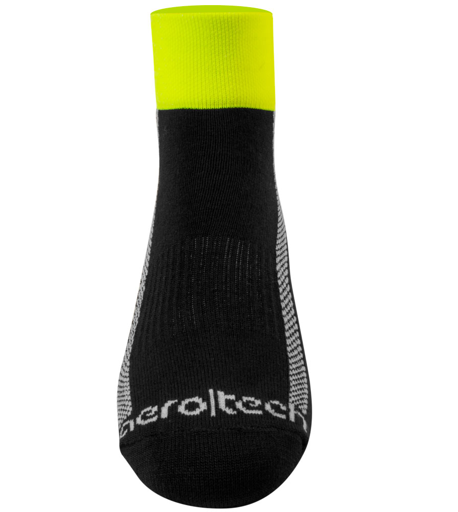 Merino Wool Cycling Sock Front View