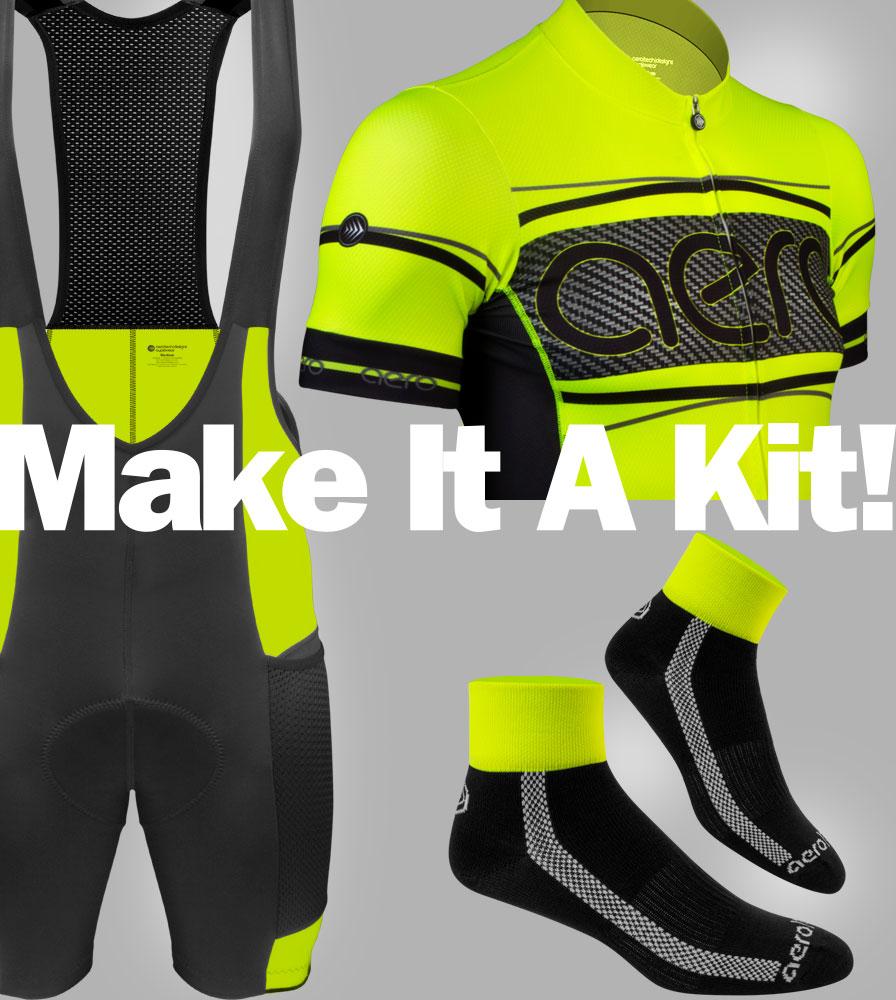 Safety Yellow Cycling Kit