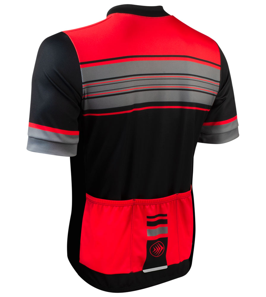 Momentum Sprint Cycling Jersey Off Back View