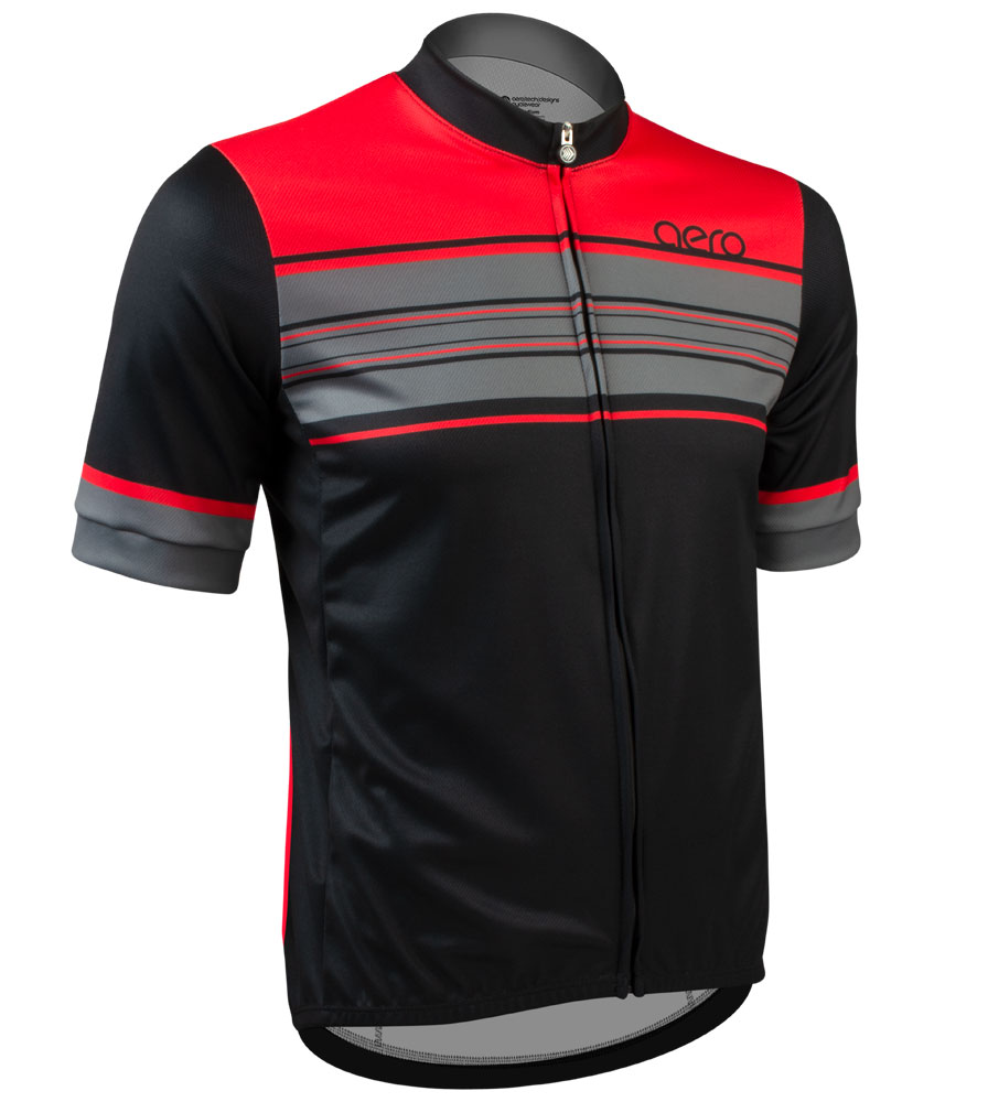 Momentum Sprint Cycling Jersey Off Front View