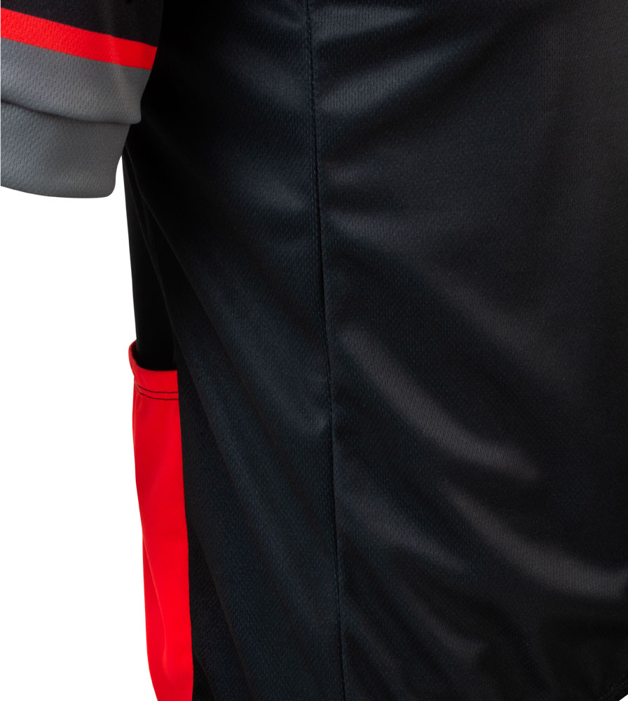Momentum Sprint Cycling Jersey Side Panel Detail