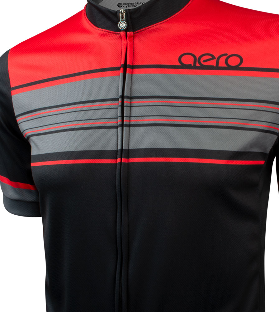 Momentum Sprint Cycling Jersey Front Graphic Detail