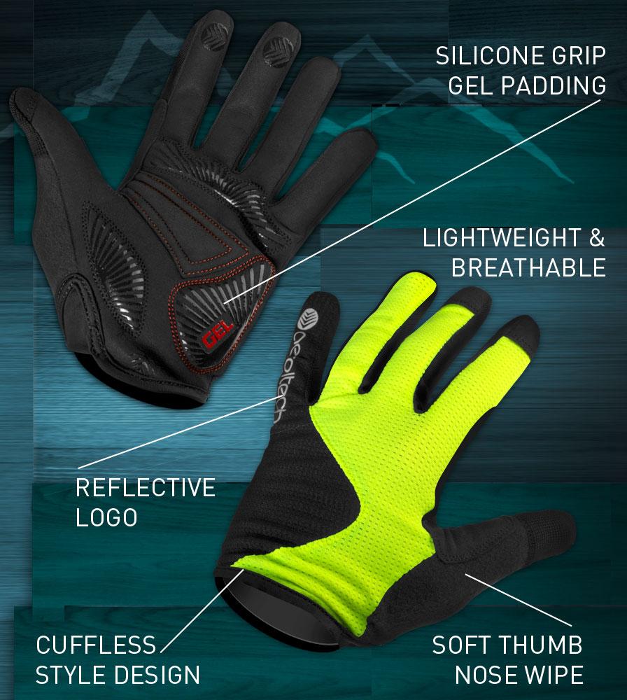 Full Finger MTB Glove Features