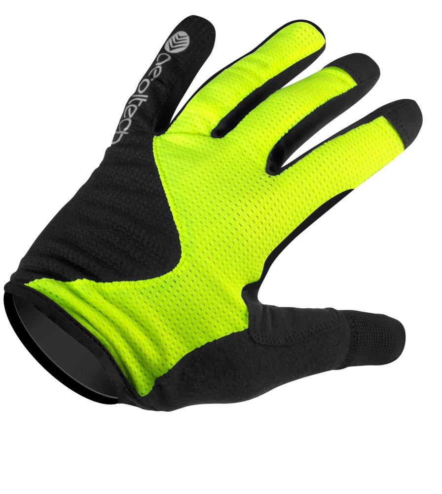 MTB Gel Glove Top Detail
