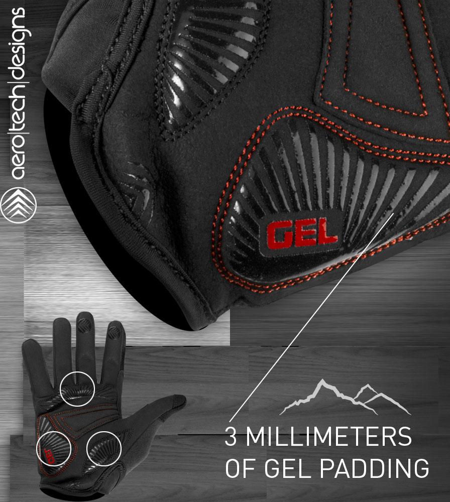 Gel Padded MTB Cycling Glove Palm