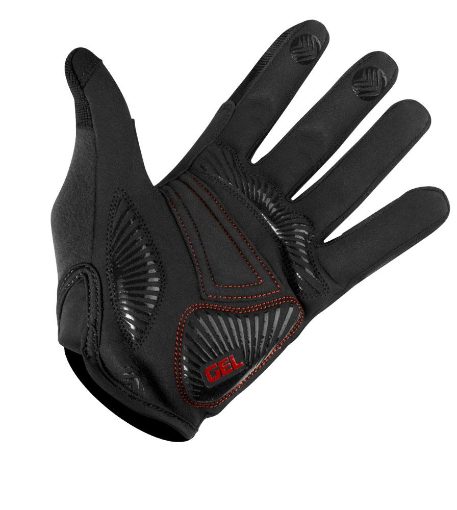 MTB Gel Glove Palm Detail