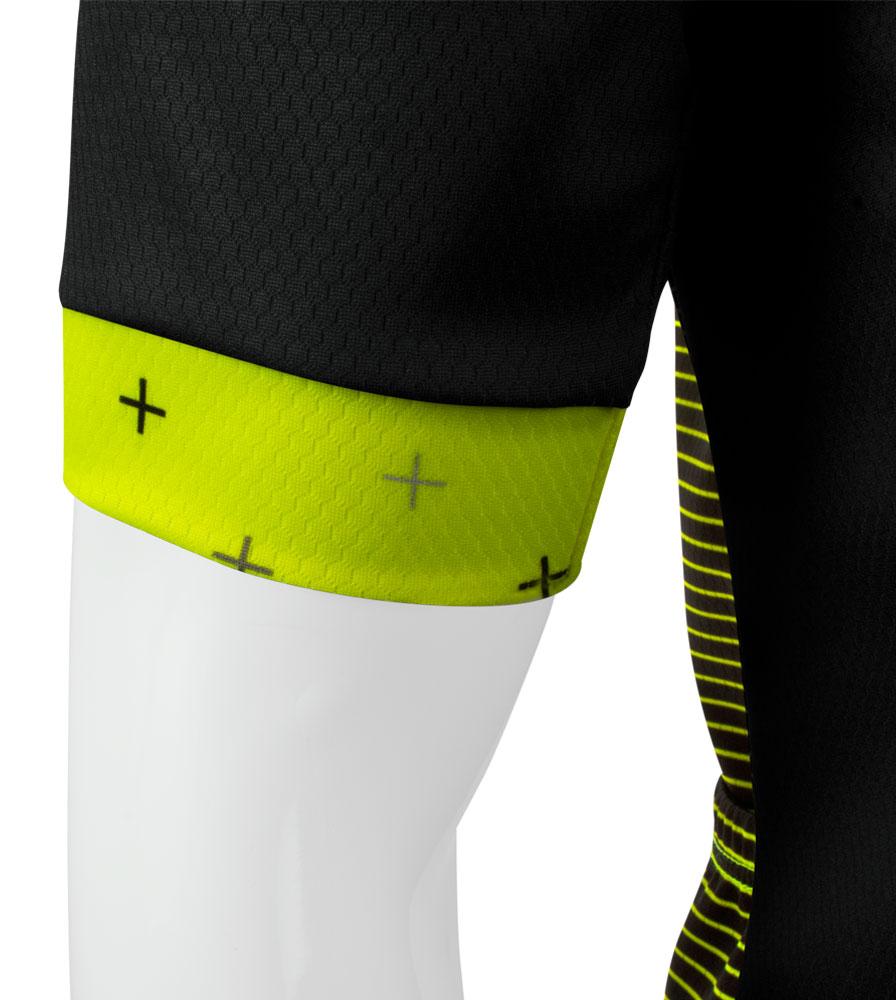 Men's Reaction Peloton Cycling Jersey Sleeve Cuff Detail