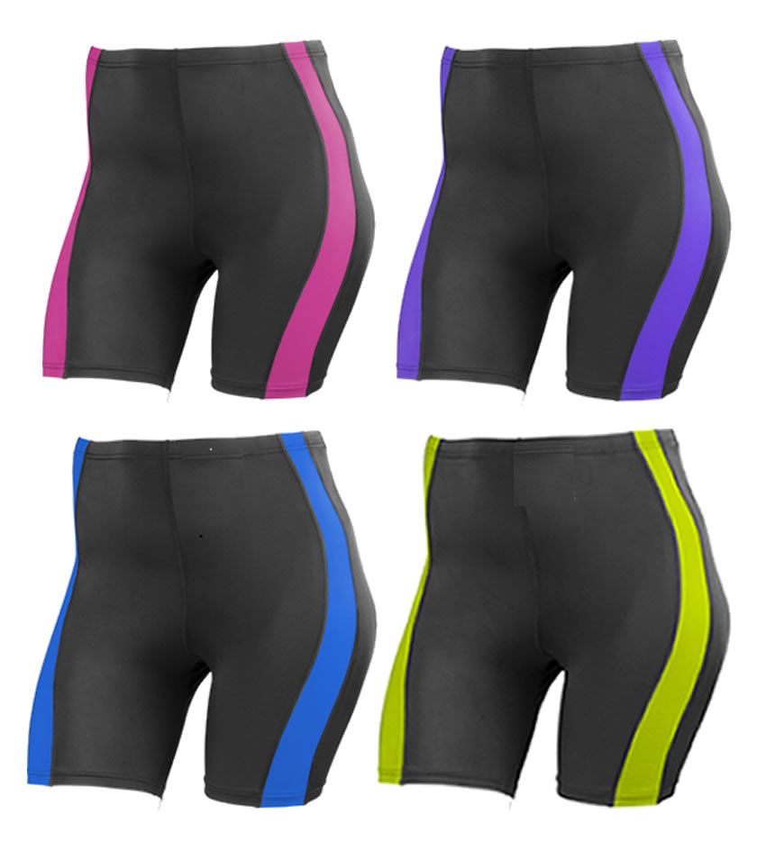 plus size workout shorts - compression garment