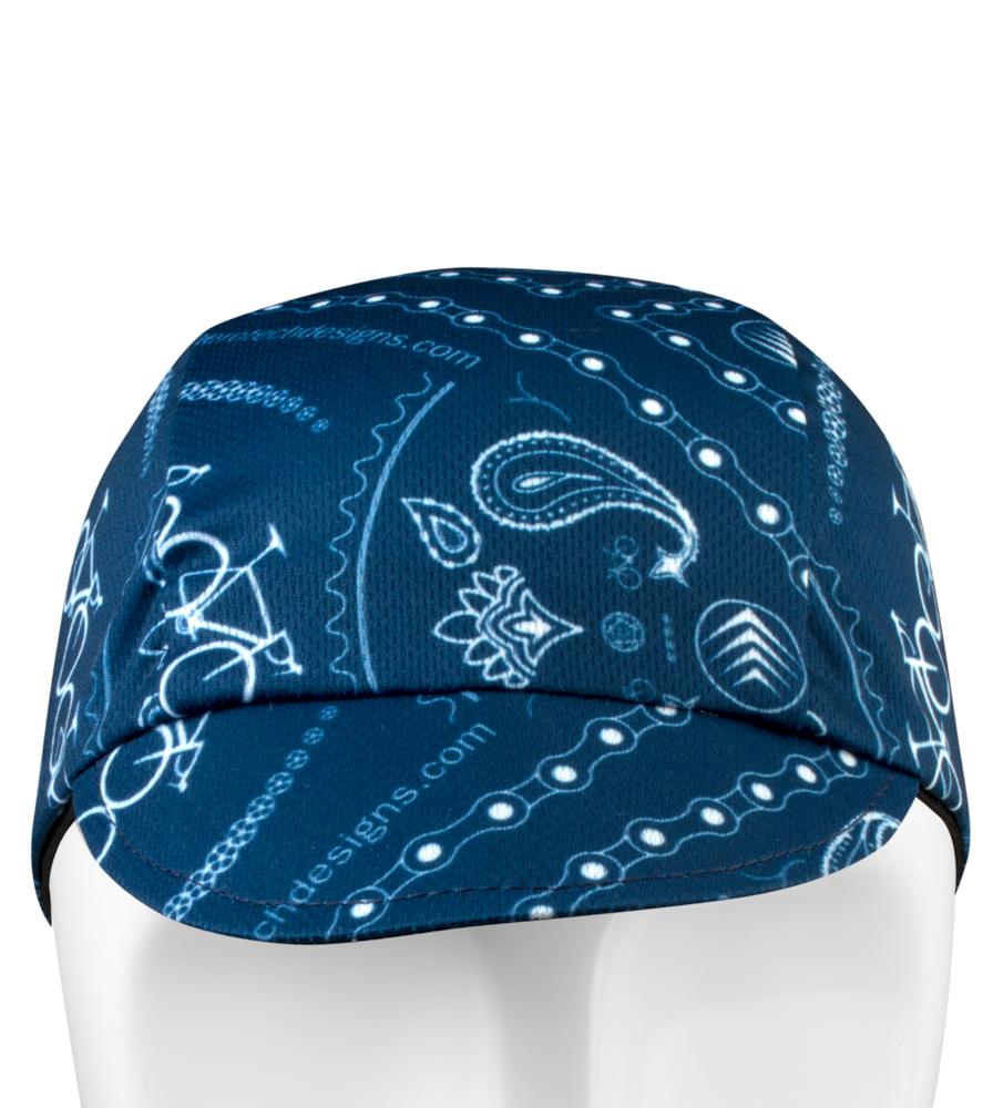 Blue Bandanna Rush Cap Front