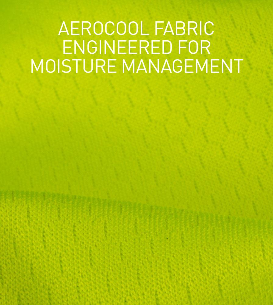 Social Distance Peloton Cycling Jersey AeroCool Performance Fabric Information