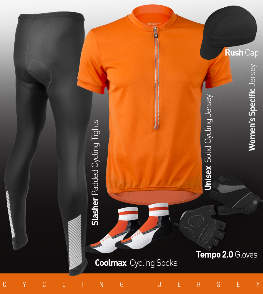 Solid Color Cycling Kit