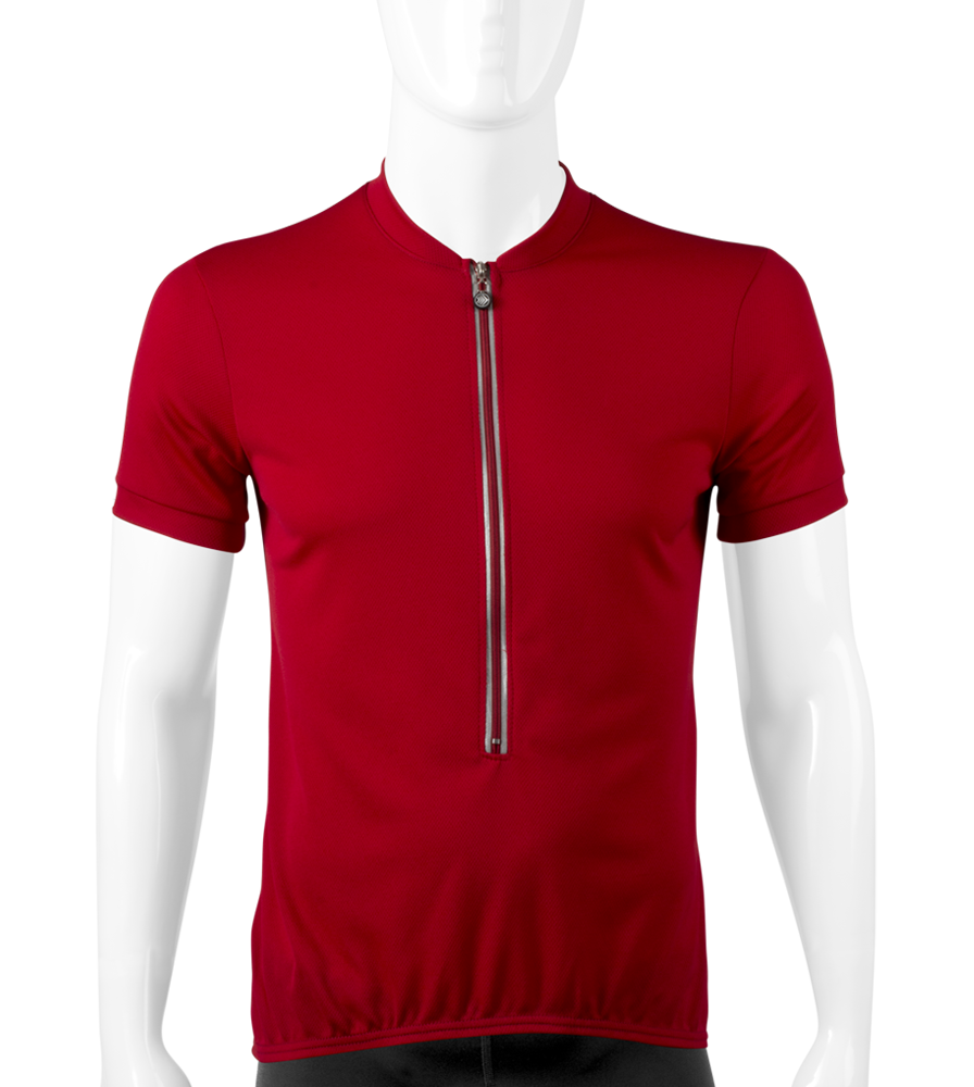solid-unisex-cyclingjersey-withbackpockets-red-front.png