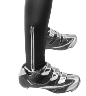 Men's Cycling Padded Bib-Tight Ankle Detail