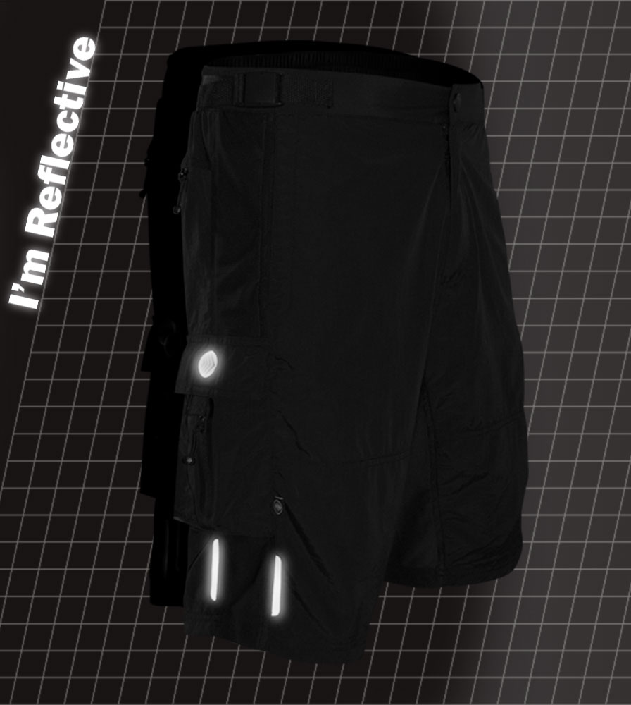 Summit MTB Short Reflective Accents