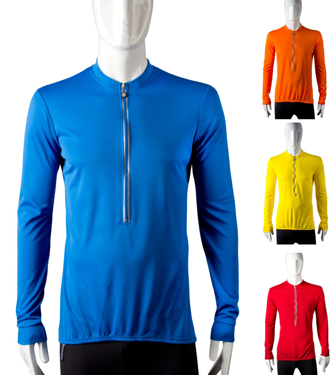 Tall Long Sleeve Solid Color Jersey