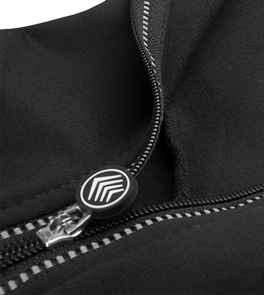Tall Alpine All Day Cycling Tights Zipper Pull Detail