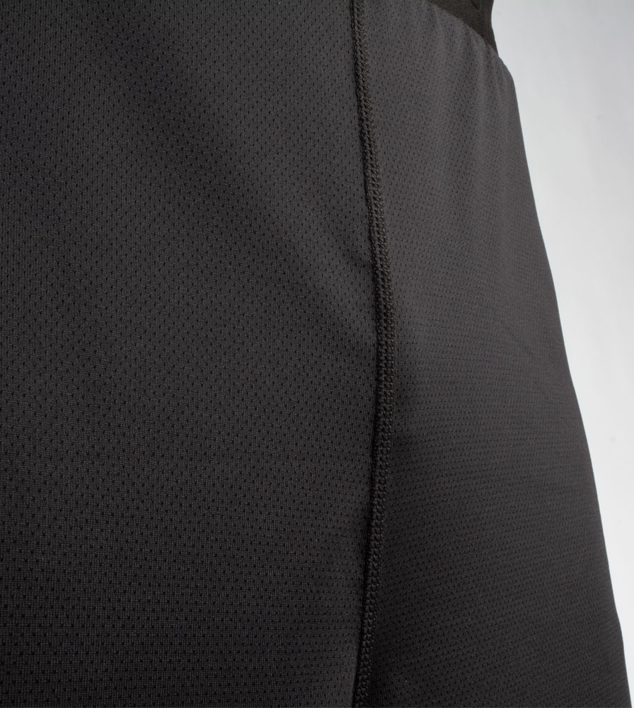 Tech Mesh Cycling Gym Short Fabric Close-up