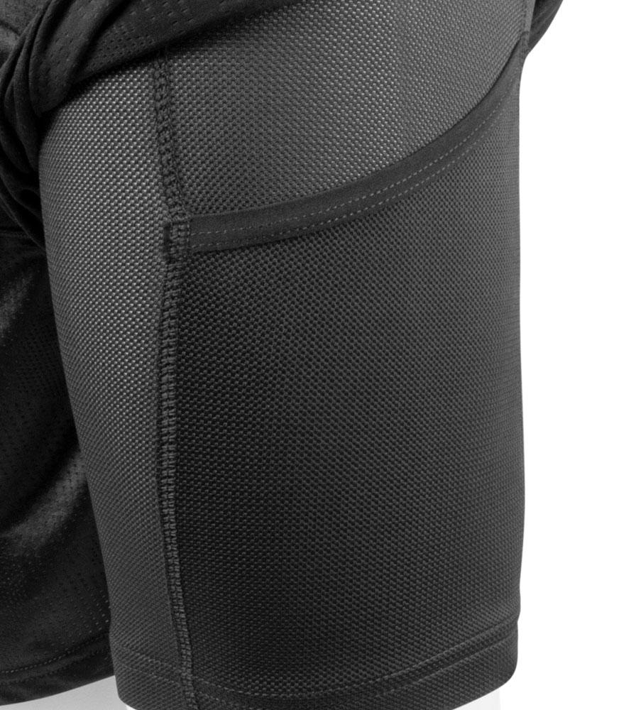 Tech Mesh Cycling Gym Shorts Pocket Graphic