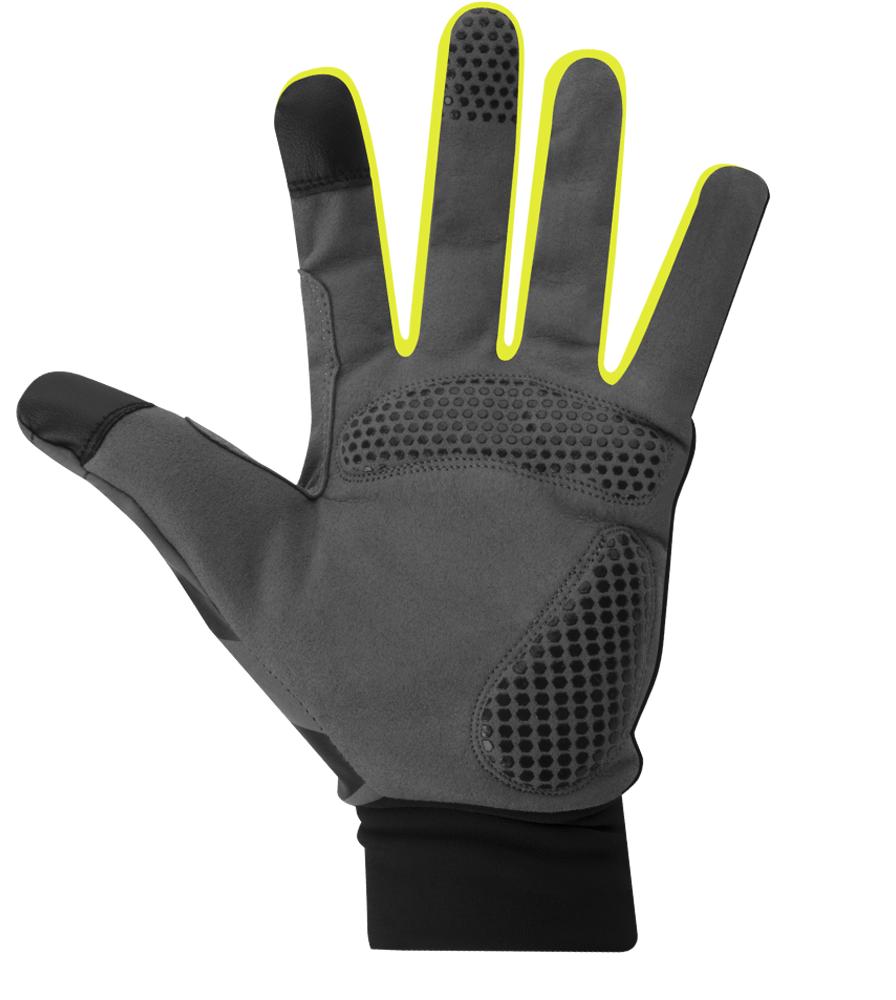 Urban Street Line Reflective Cycling Glove Palm Detail
