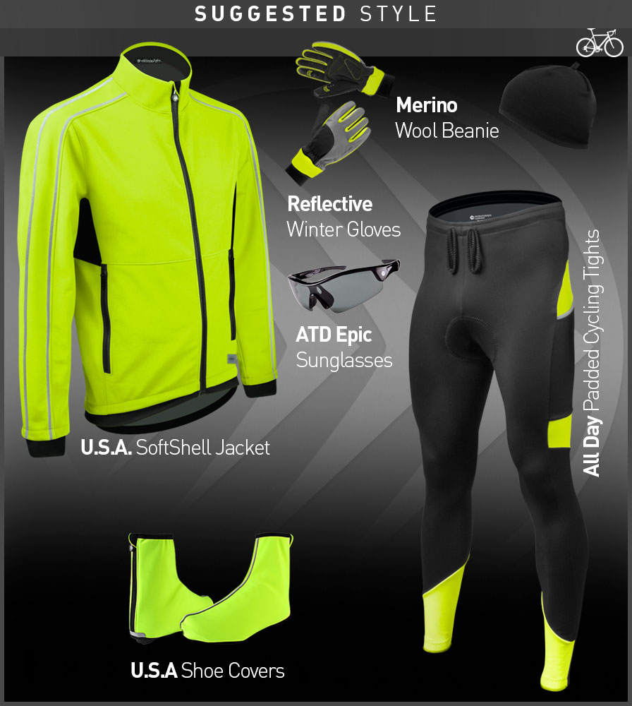 USA Cycling Shoe Cover Kit