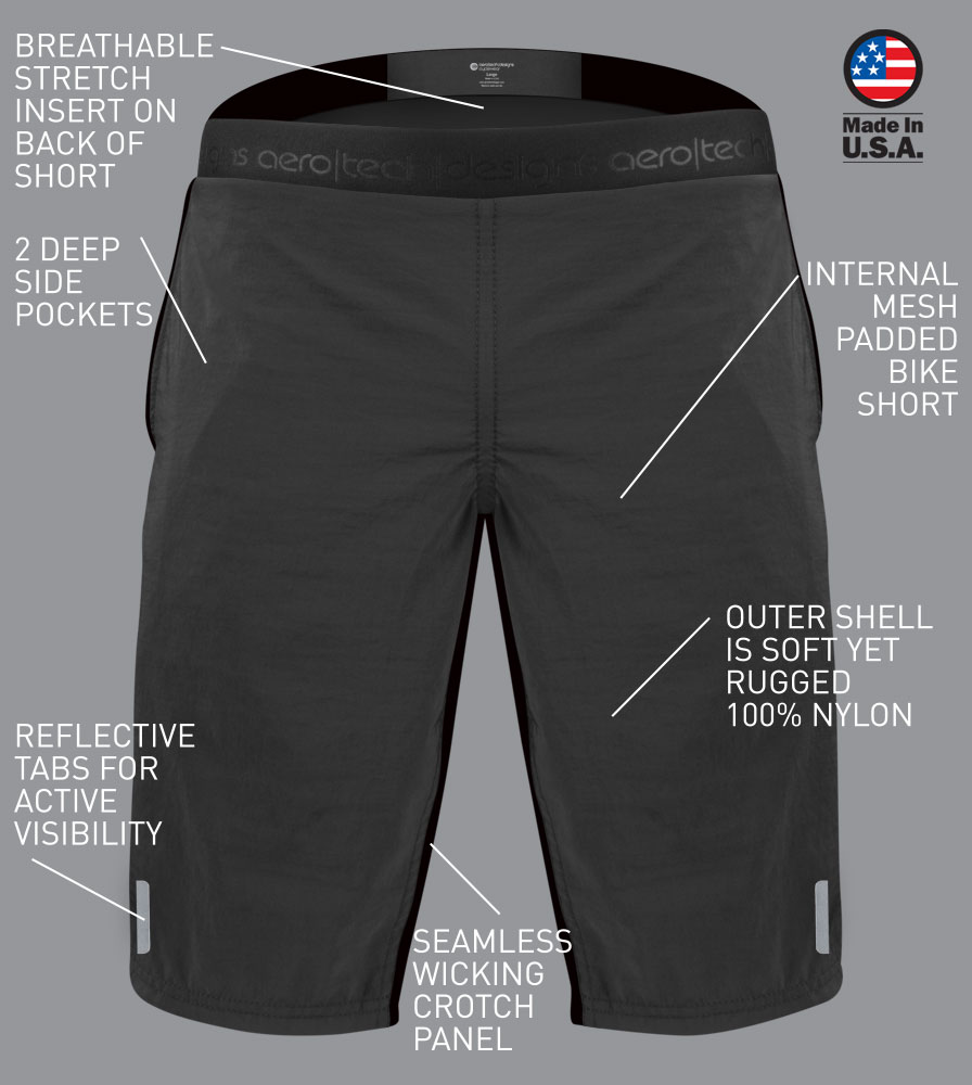 Men's Cycling Shorts Features