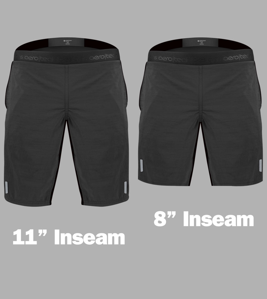 USA MTB Short Inseam Baggy Shorts Front View