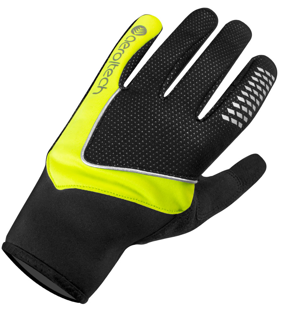 Windproof Full Finger Bike Glove Front