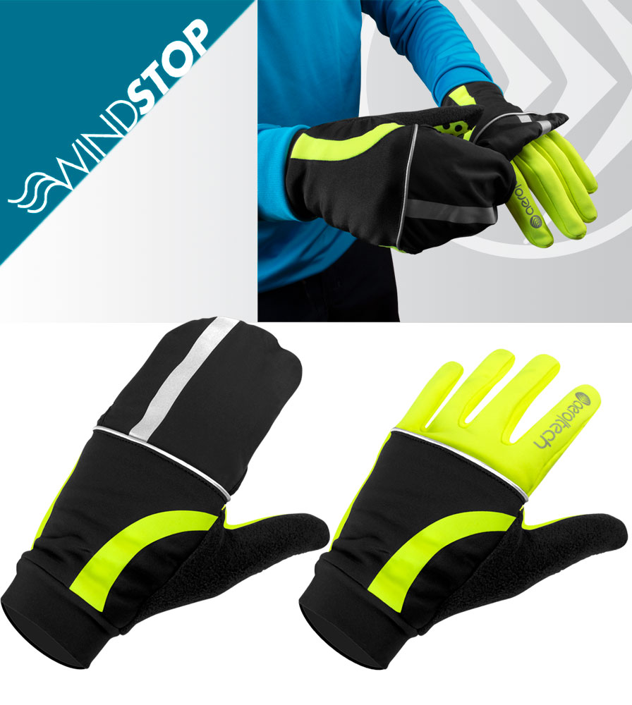 Full Finger Convertible Cycling Glove and Mittens