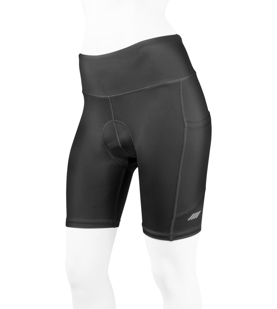 Women's 3D Gel Padded Shorts Front