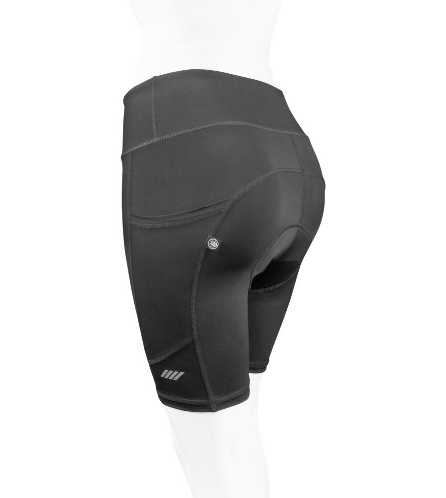 Women's 3D Gel Padded Shorts Off Back