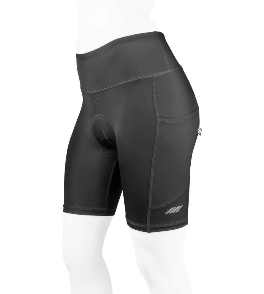 Women's 3D Gel Padded Shorts Off Front