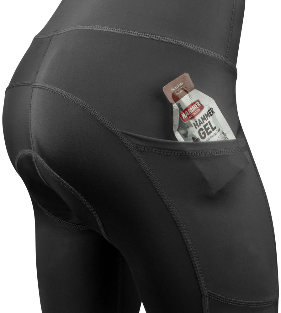 Pocket on the 3D Gel Padded Shorts