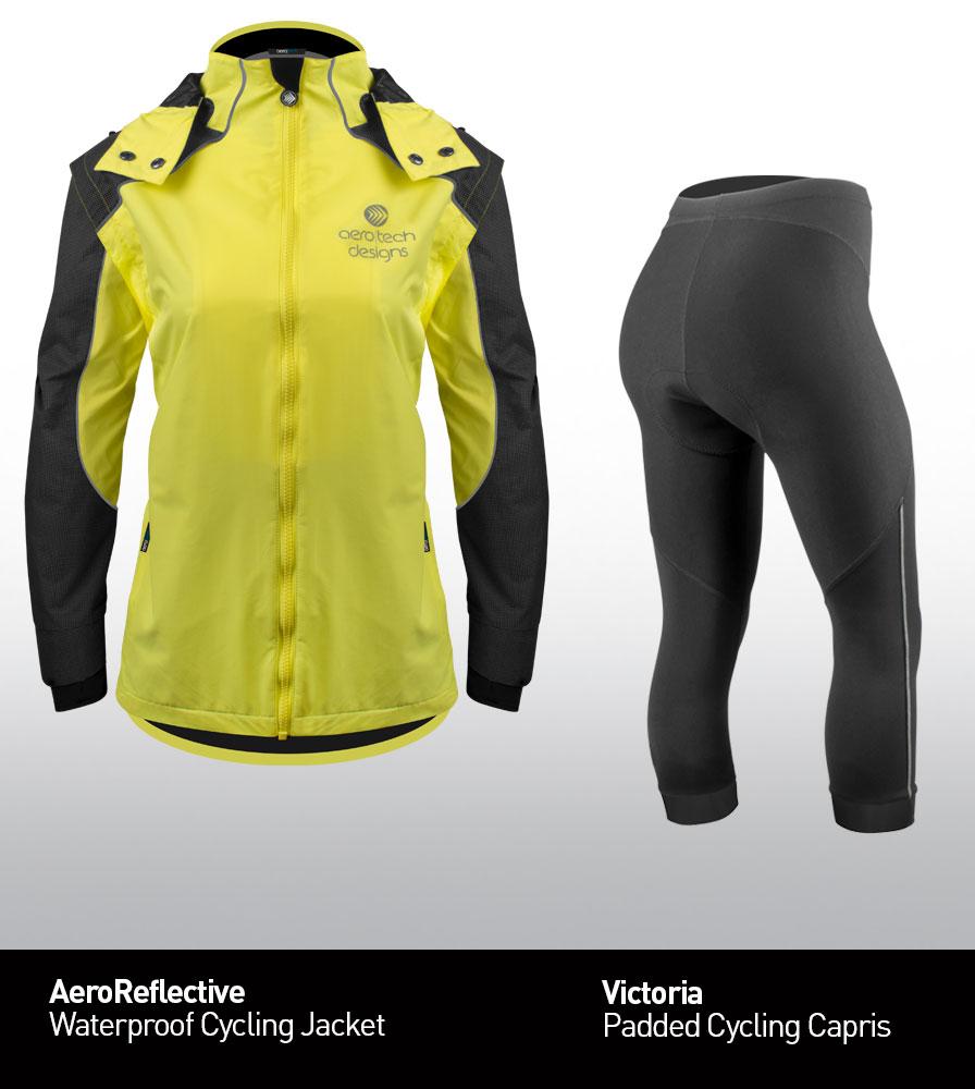 Women's Cycling Rain Jacket Kit
