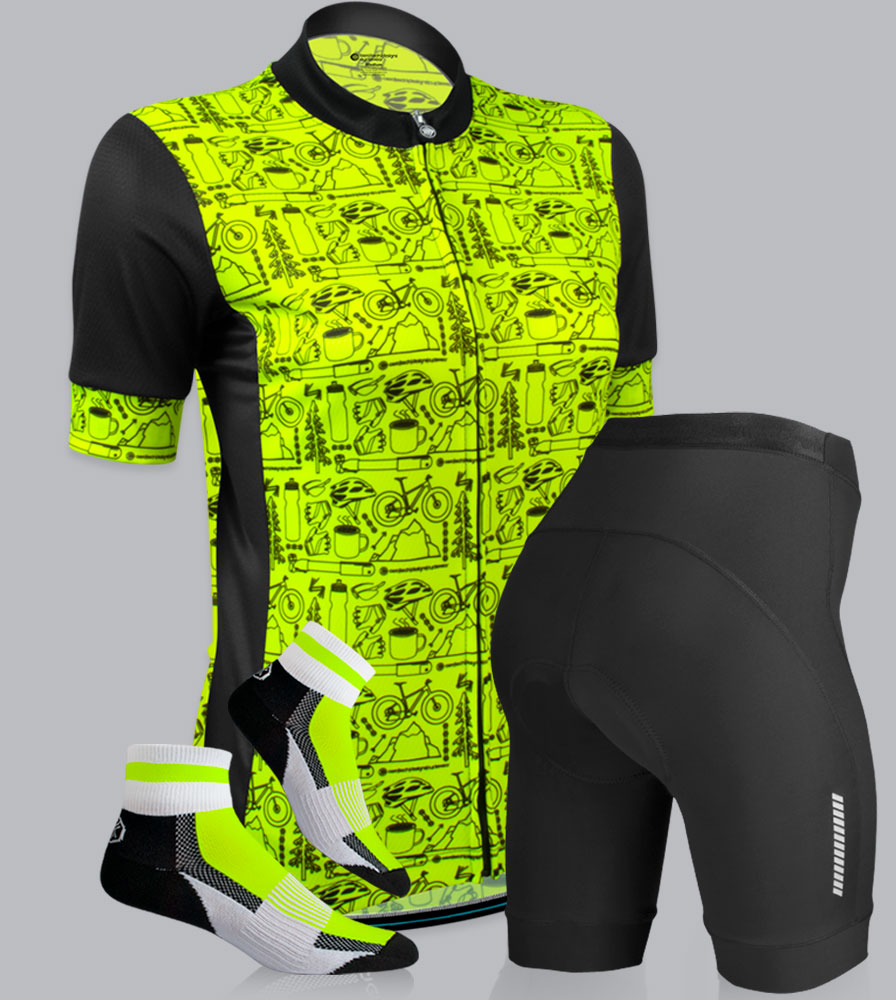 Women's Motivate Fierce Cycling Kit