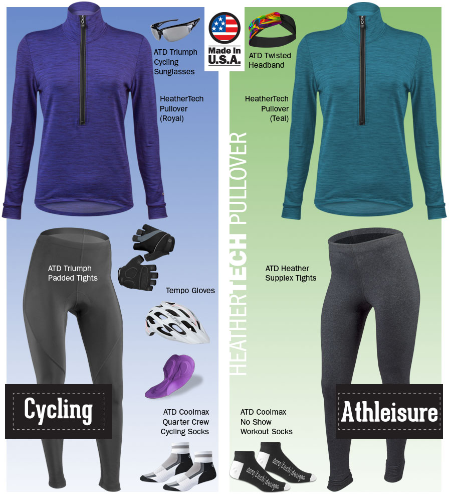 Women's HeatherTech Pullover Kit