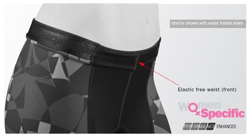 No elastic in front