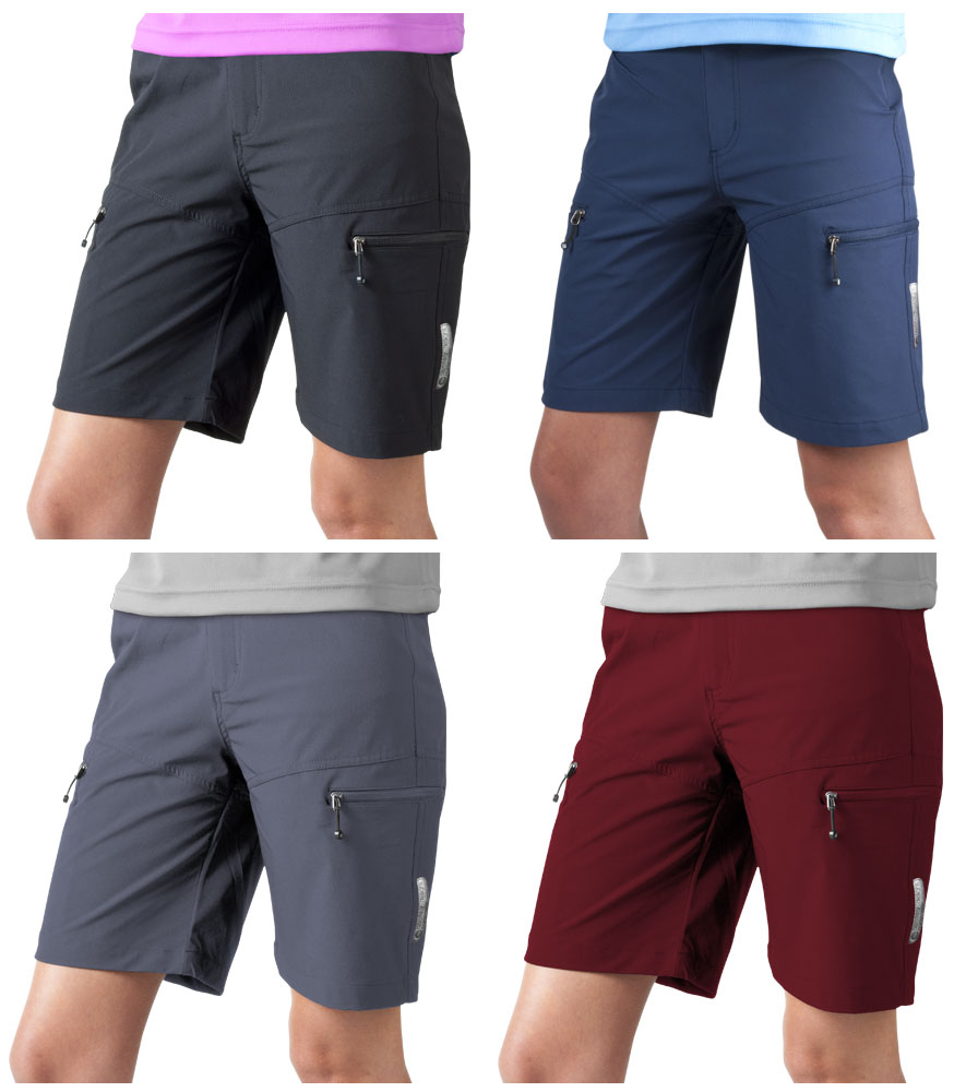 Women's Multi-Sport Shorts Available in Four Colors