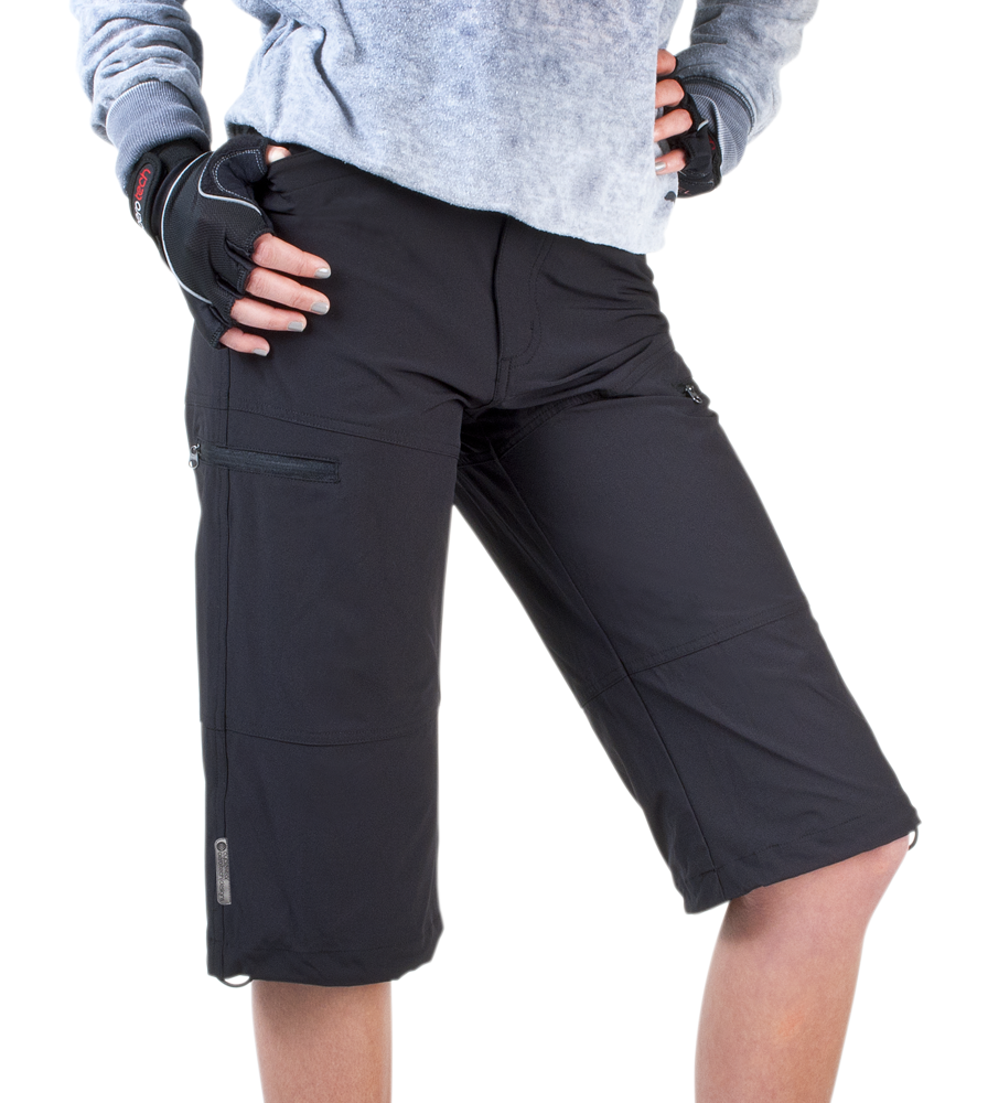 8efaecfcee0ba Women's Urban Pedal Pushers Stretch Woven Knickers with Cargo Pockets