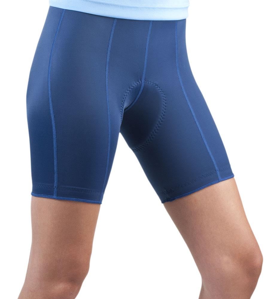 Women's Pro Cycling Short in Navy Blue