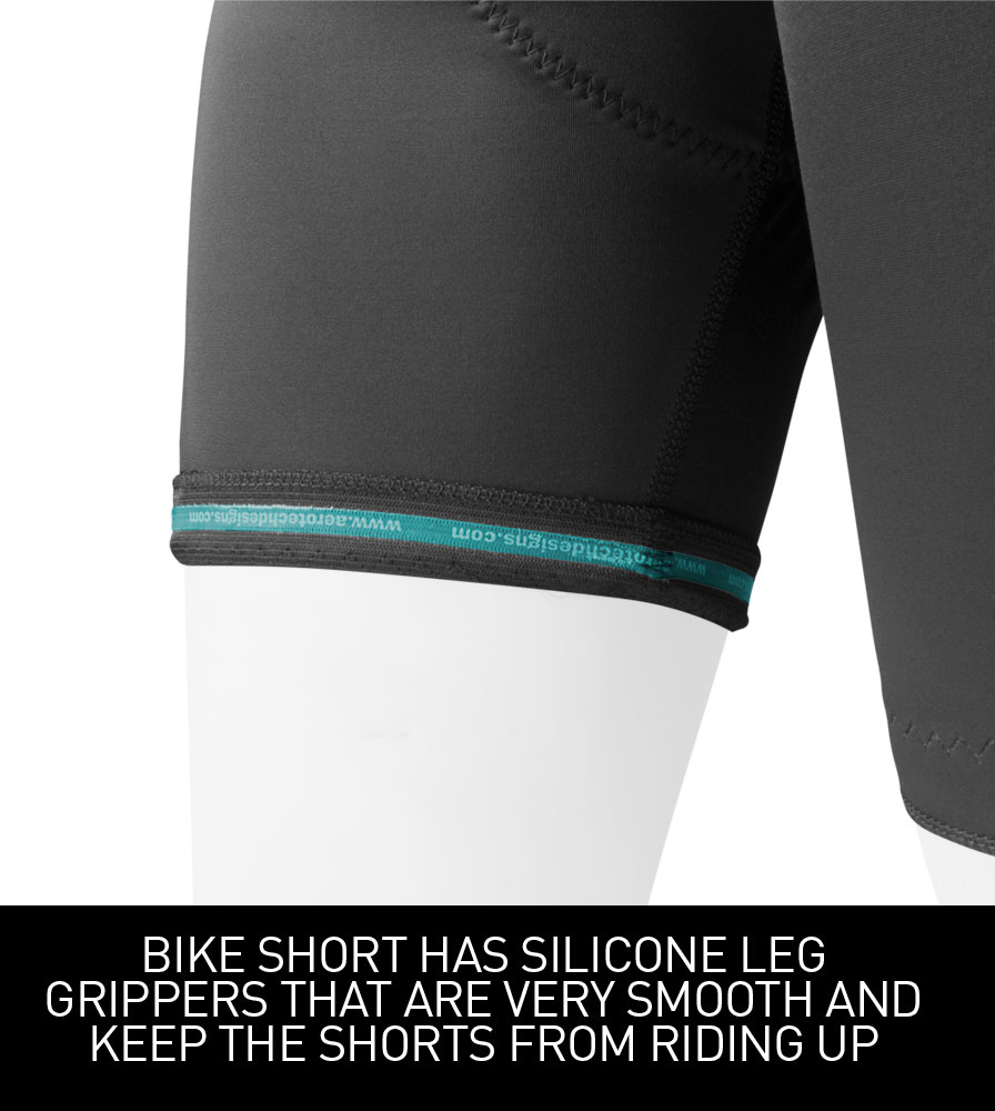 Women's Pro Cycling Shorts with Silicone Grippers