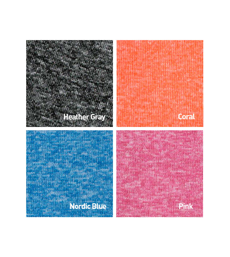 Women's Thrive Tech Tee Fabric Color Options