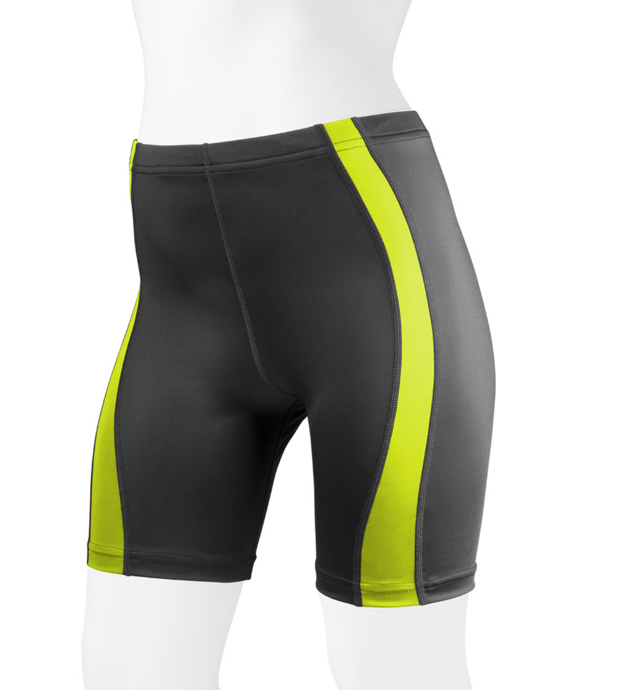 womens-unpadded-classiccyclingshorts-safetyyellow-front.png