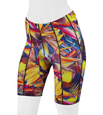 Tropical Fish padded shorts front
