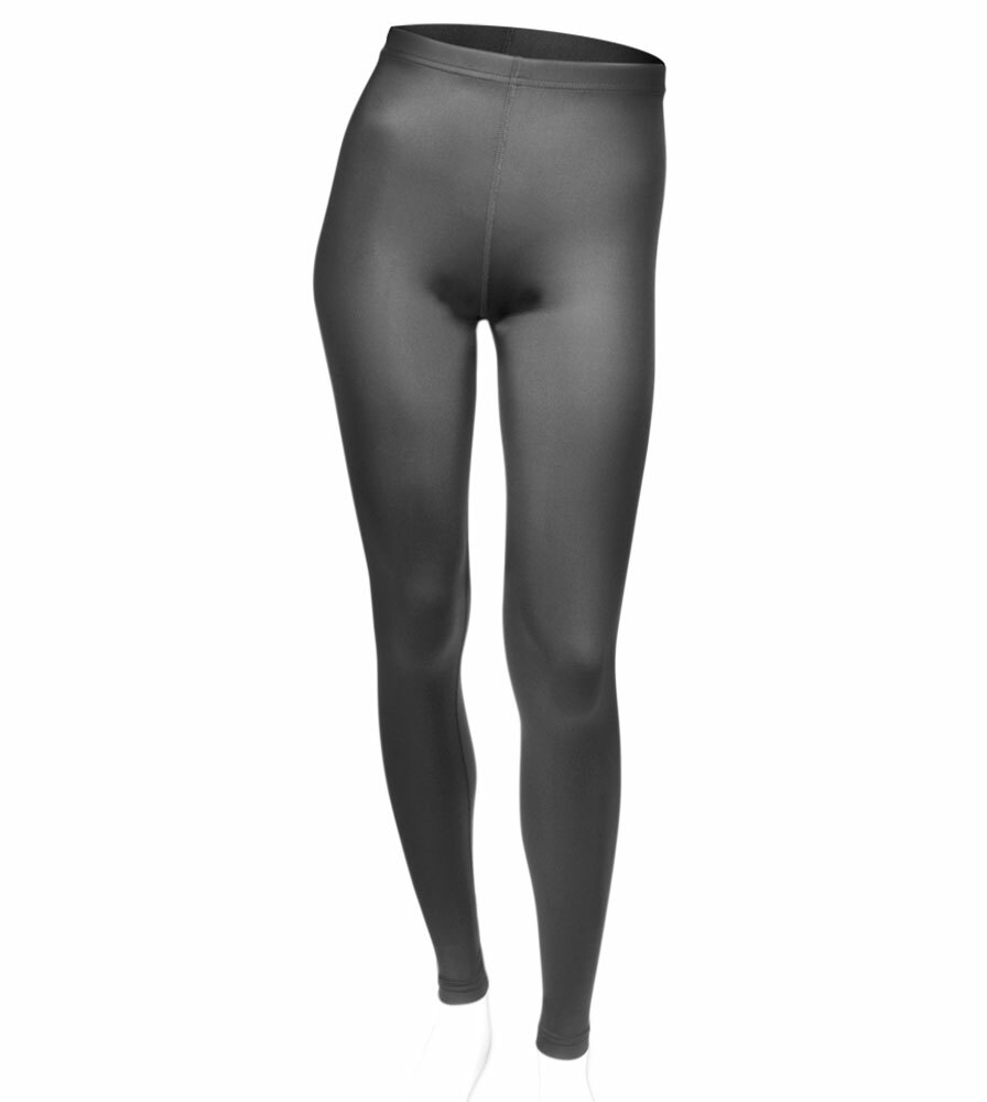 Women's Plus Size Black Spandex Workout Tights