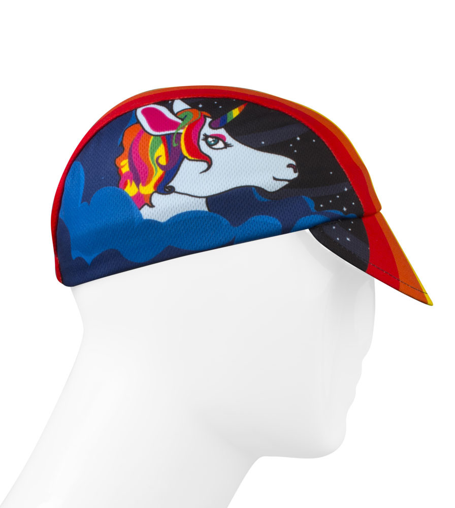 One of a Kind Rush Cycling Caps Full Right Side View