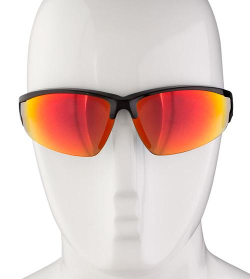 Aero Tech Ruby Mirror Finish Wrap Sunglasses 52da6aac17d7