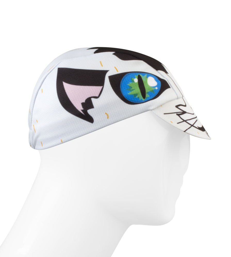 Alley Cat Cycling Caps Full Right Side View