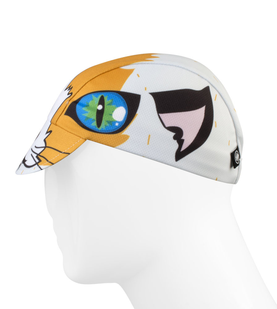 Alley Cat Cycling Caps Full Left Side View