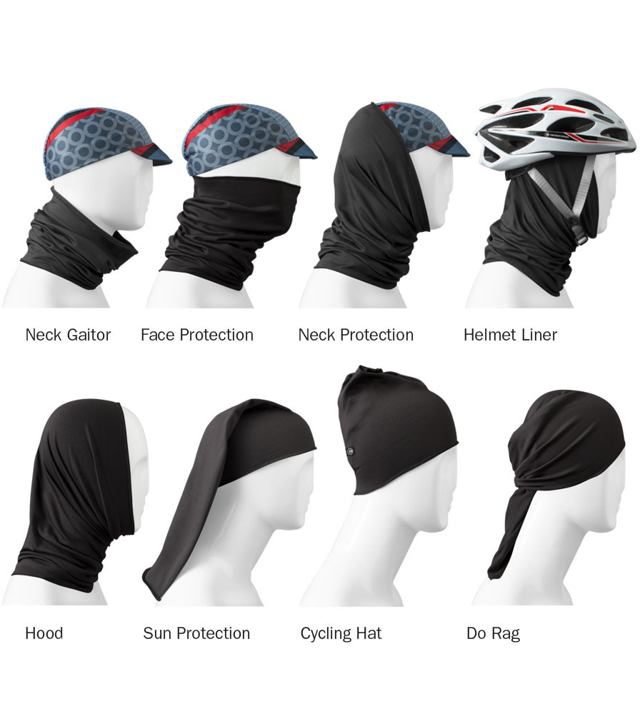 Multi-Functional Head Cover and Neck Tube