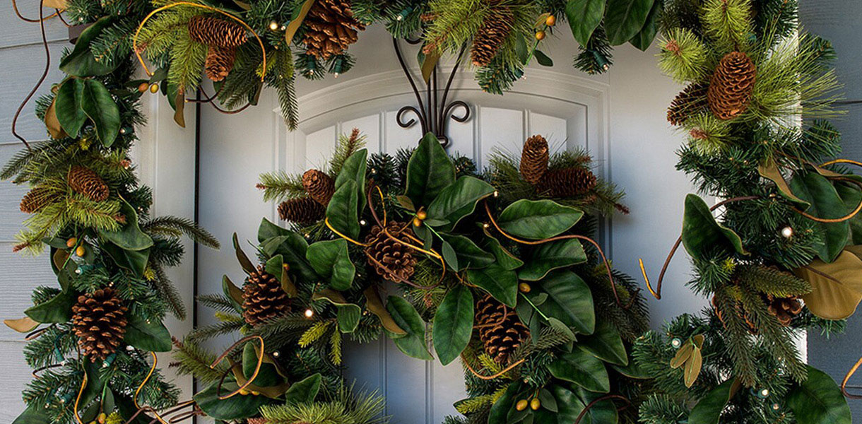 Northlight Seasonal Wreaths & Garland